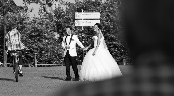 Hochzeitsnachshooting am Kölner Dom